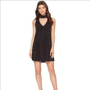 SMYM Friday Choker Glitter Dress Size Small